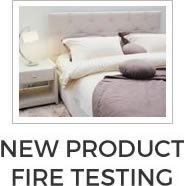 New Product Fire Testing